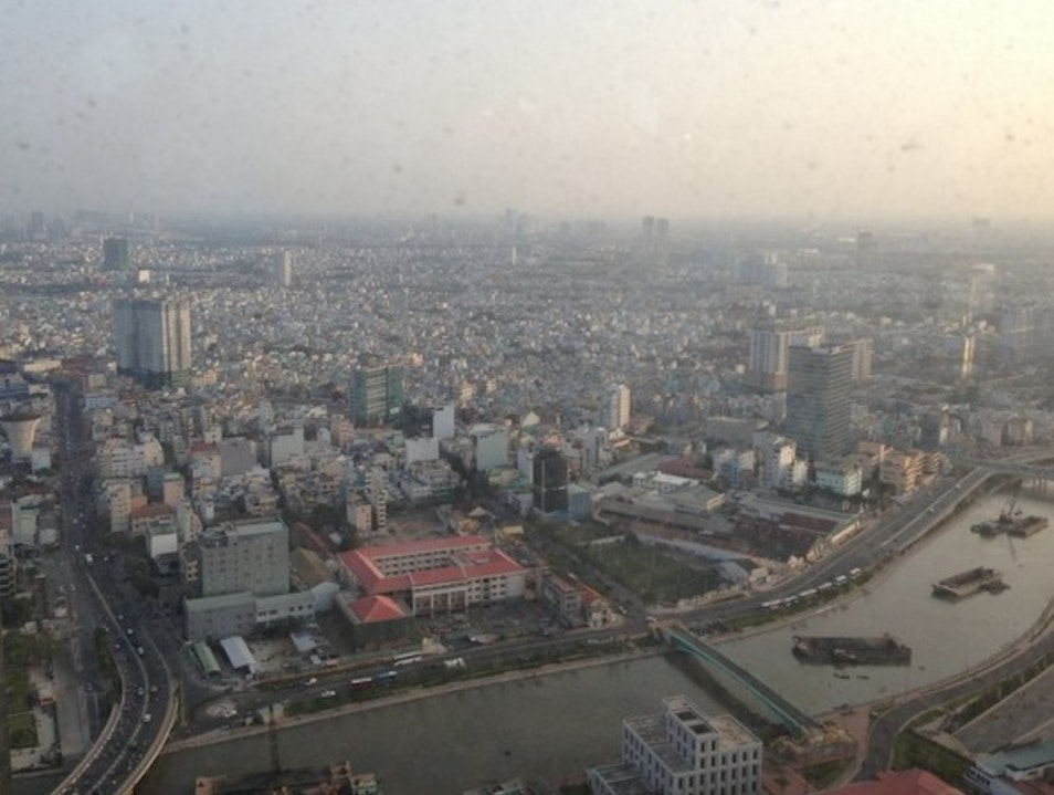 Ho Chi Minh City from the 49th floor