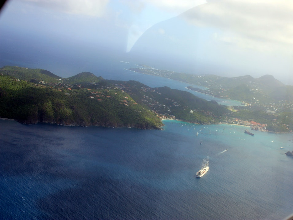 The Flight to St. Barths