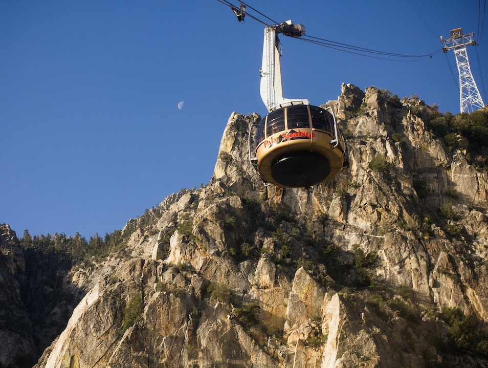 Tram To The Top of Palm Springs