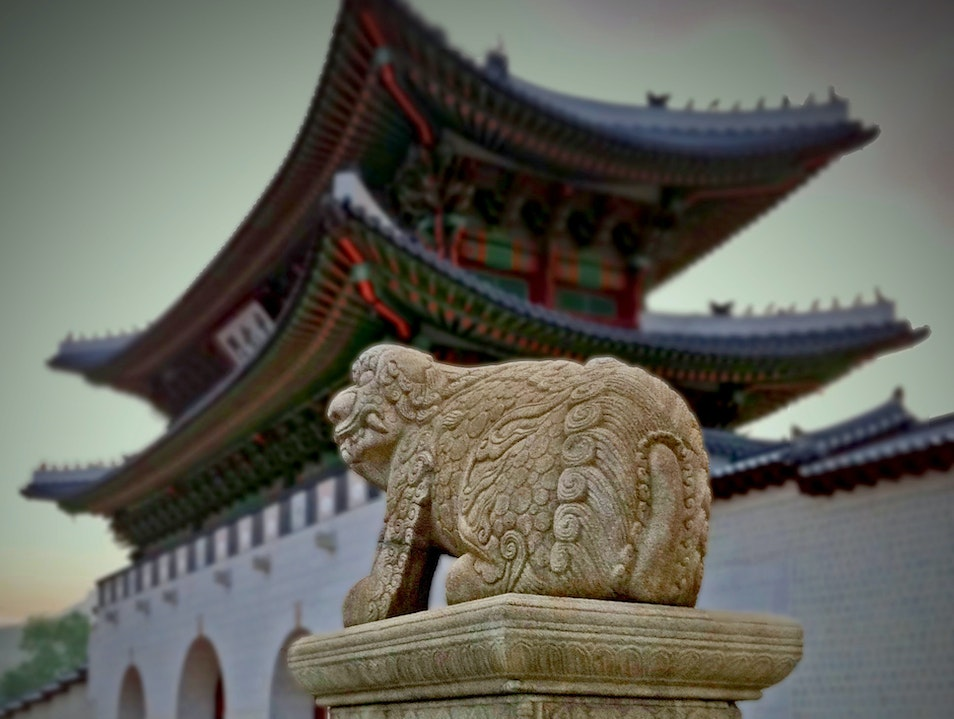 standing guard...again Seoul  South Korea