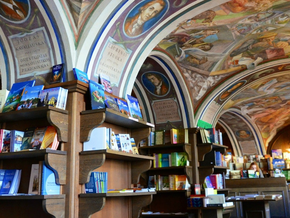 A Most Beautiful Ceiling in a Most Unexpected Location Vilnius  Lithuania
