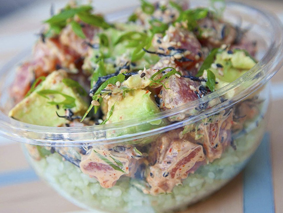Poke Perfection at Sweetfin Los Angeles California United States