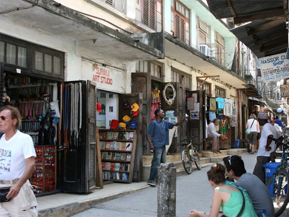 Searching for Treasure in Stone Town