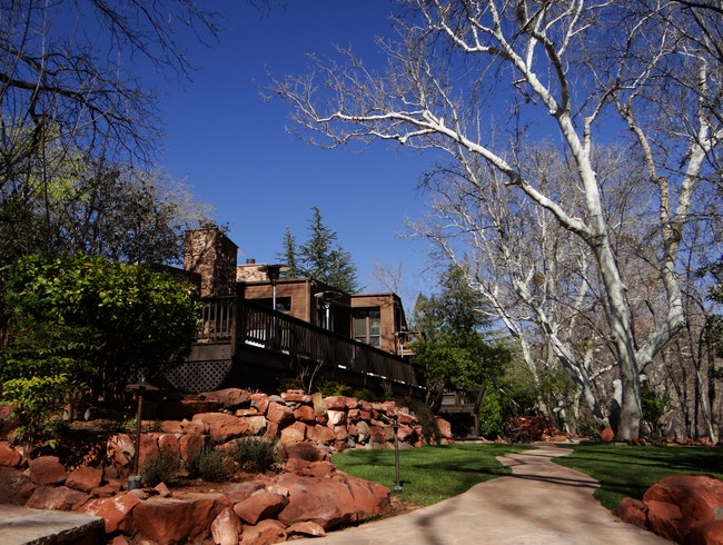 Rustic Luxury in the Red Rocks