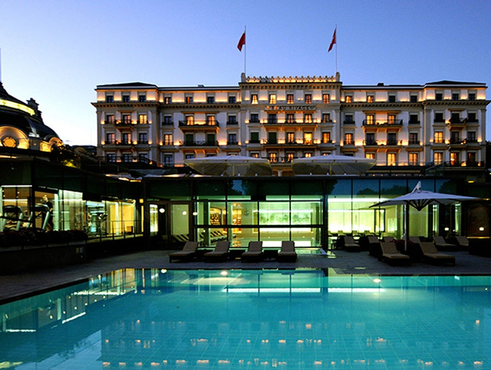 Beau-Rivage Palace Hotel Lausanne  Switzerland