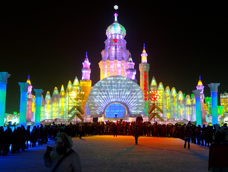 The Artistry Behind the Festival Harbin  China