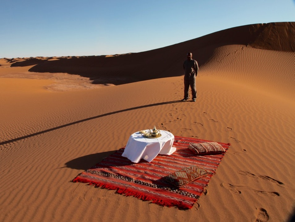 YOUR OWN PRIVATE TENT CAMP IN THE SAHARA Akka  Morocco
