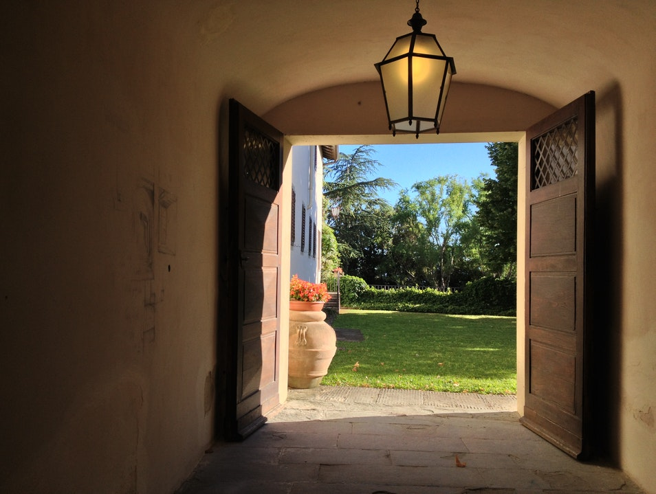 Exploring a Former Medici Hunting Reserve in the Tuscan Hills Villa  Italy