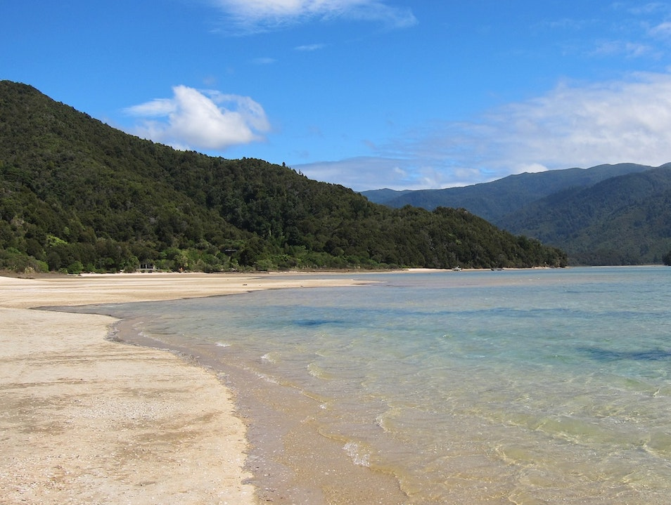 Paradise In Abel Tasman National Park South Island  New Zealand
