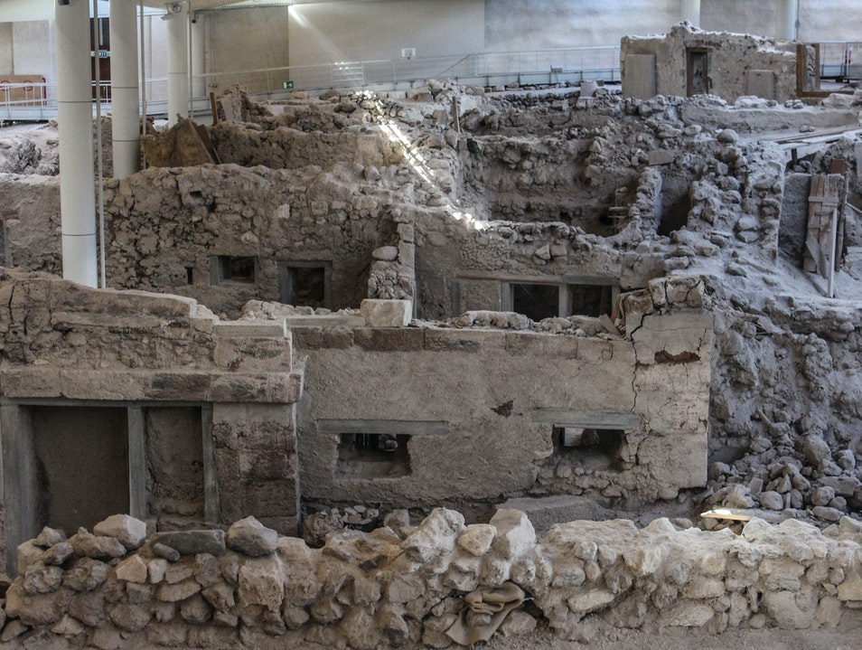 An Ancient Minoan Town Perfectly Preserved for 3600 Years