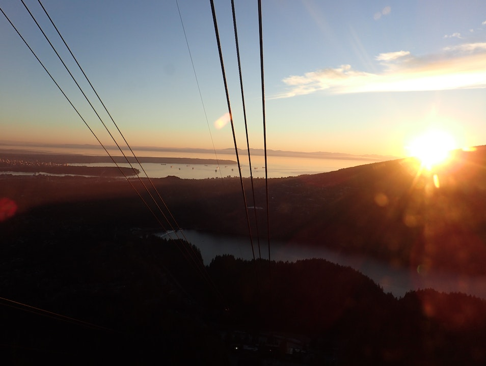 Soar Above the City on the Grouse Mountain Skyride Vancouver  Canada