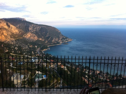 Route de la Turbie Roquebrune Cap Martin  France