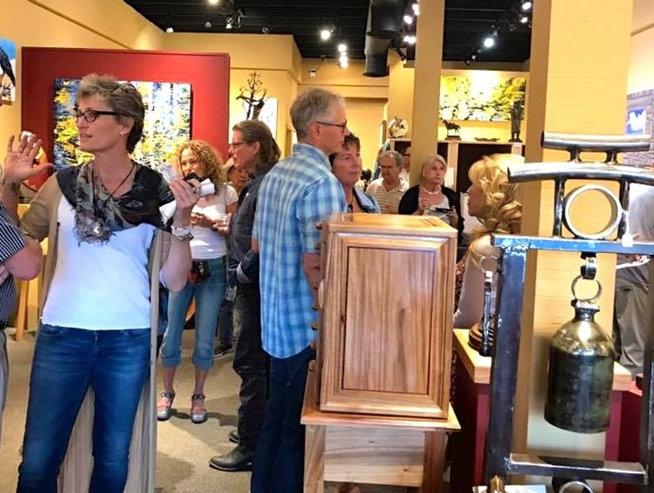 1st Friday Reception at Goldenstein Gallery Sedona Arizona United States