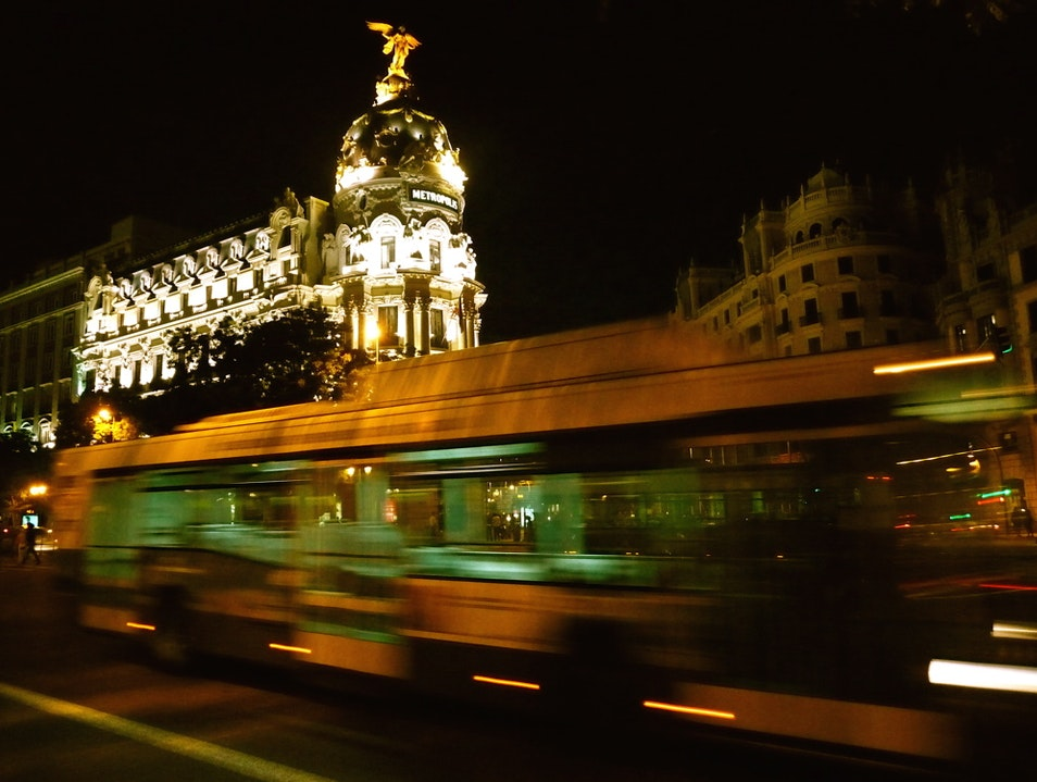 Midnight in Madrid Madrid  Spain