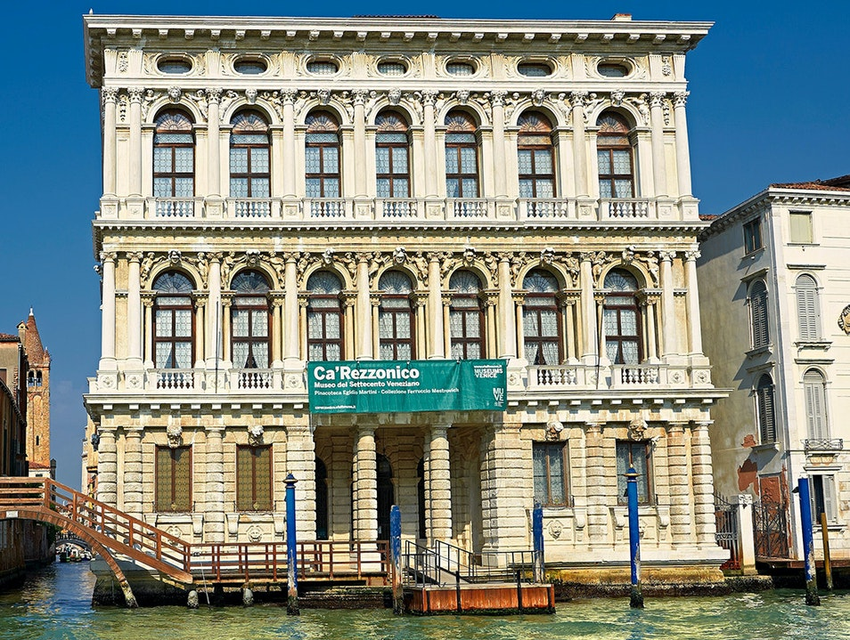 Museum of the 18th Century (Ca' Rezzonico) Venice  Italy