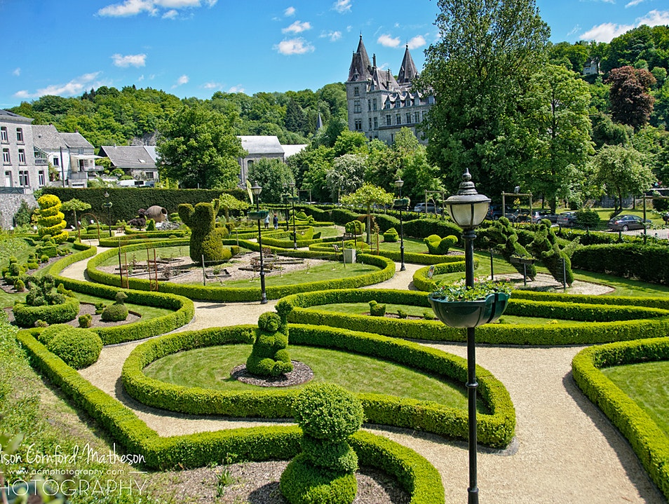 A Unique Garden in the World's Smallest Town Durbuy  Belgium