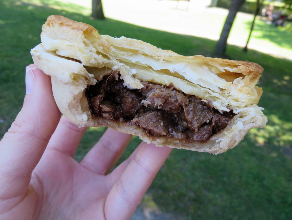 I dream about these meat pies. Arrowtown  New Zealand