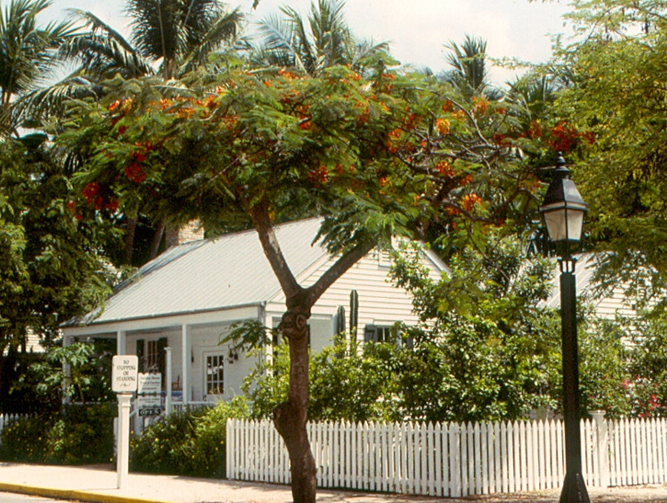 Audobon House and Gardens in Key West Key West Florida United States