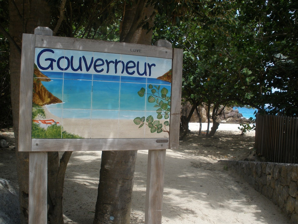 Secluded Beaches of St. Barths: Gouverneur Beach   Saint Barthélemy