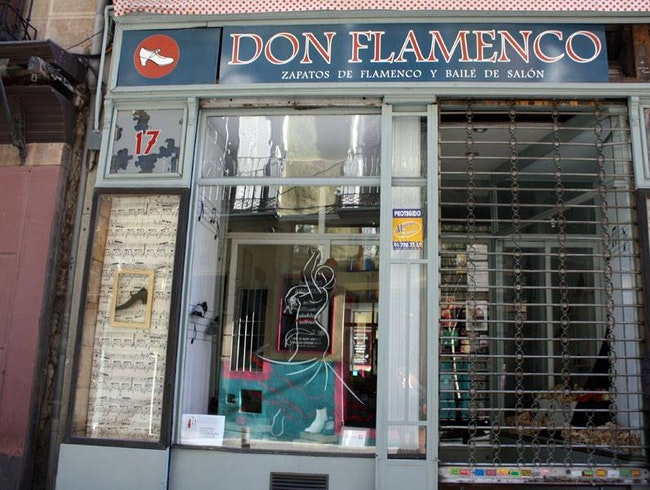 Authentic Flamenco Shop in the Heart of Madrid