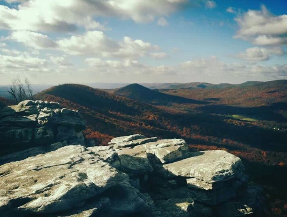 Eagle Rock Overlook Star Tannery Virginia United States