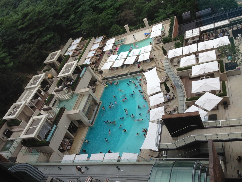 Relax at the ultimate (and actual) urban oasis  Seoul  South Korea