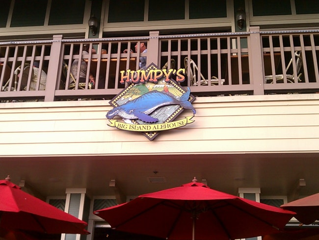 Humpy's Hawaiian Location