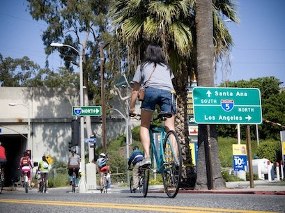 CicLAvia Festival LA Los Angeles California United States