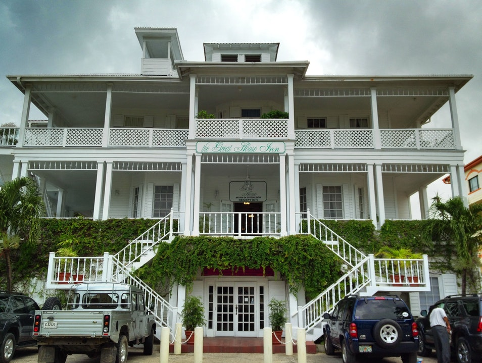 Stay at the Great House Inn Belize City  Belize