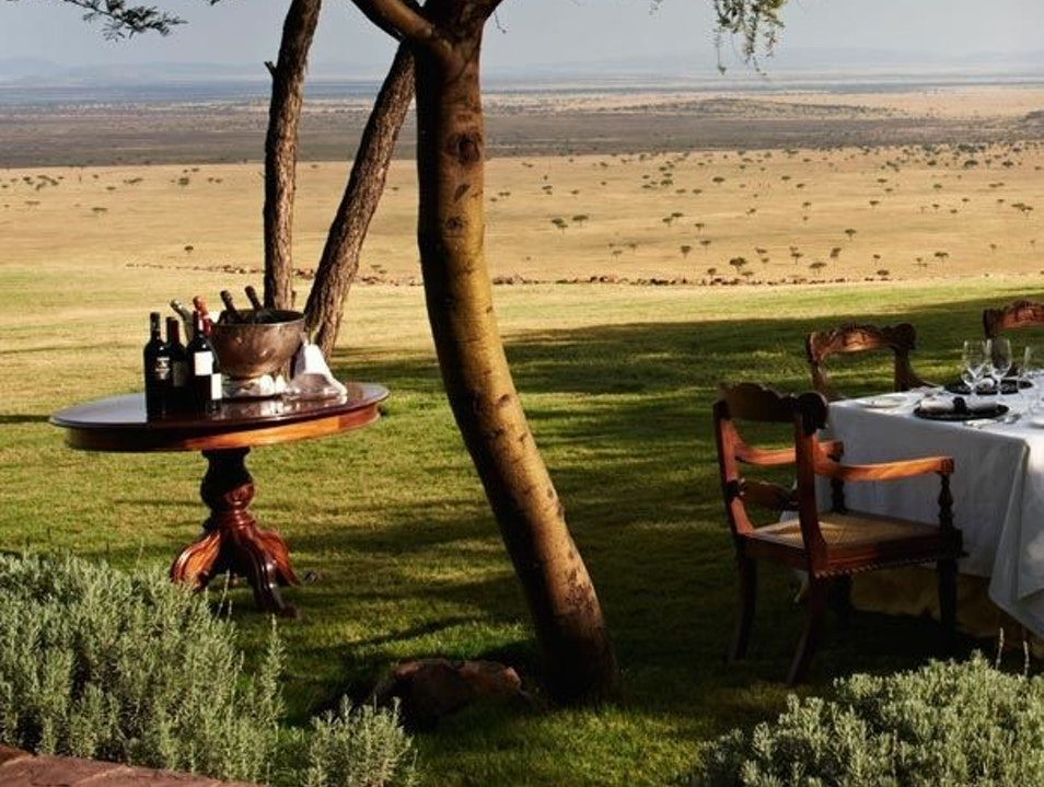 A World of Wine Serengeti  Tanzania