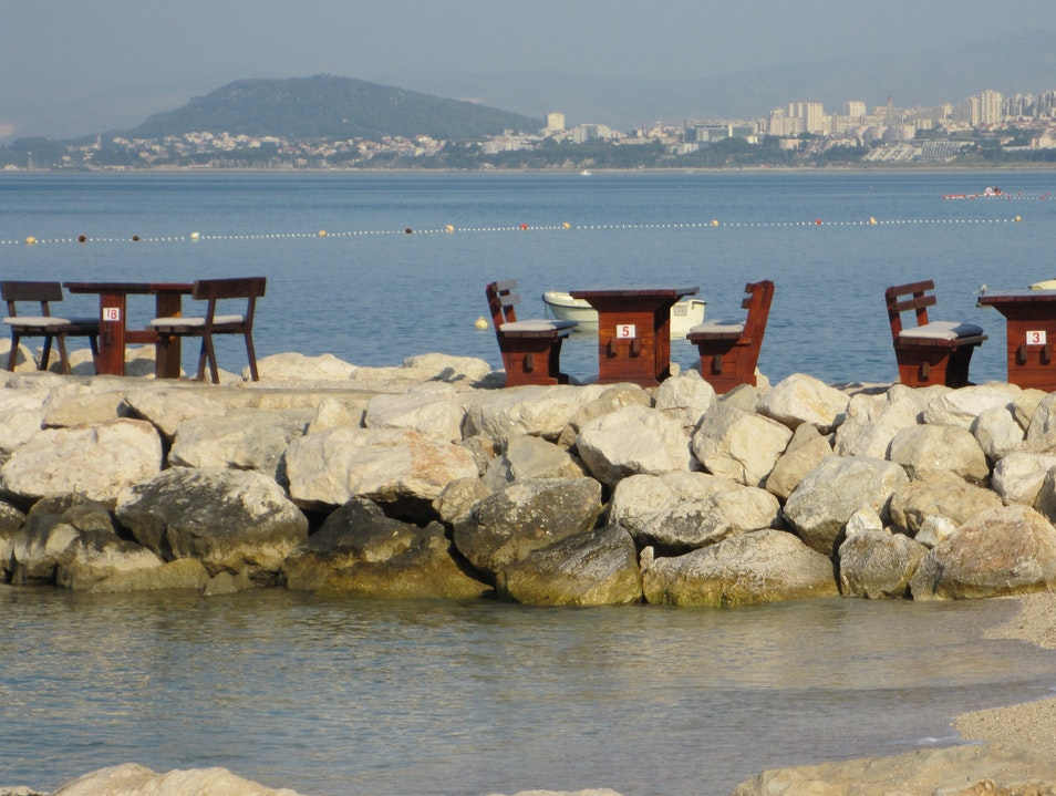 Table With  A Great View Split  Croatia