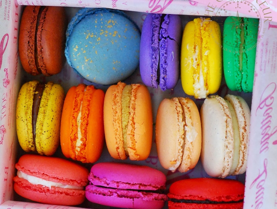 Brunch, Macarons, and More at Bottega Louie Los Angeles California United States
