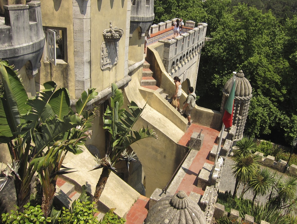 IF I COULD BUILD MY OWN CASTLE, IT WOULD LOOK LIKE THIS. Sintra  Portugal