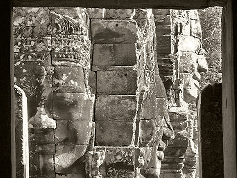 The Egnimatic Faces of Bayon   Cambodia