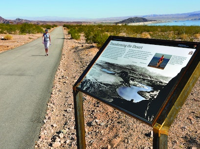 Historic Railroad & River Mountain Loop Trail Head Boulder City Nevada United States