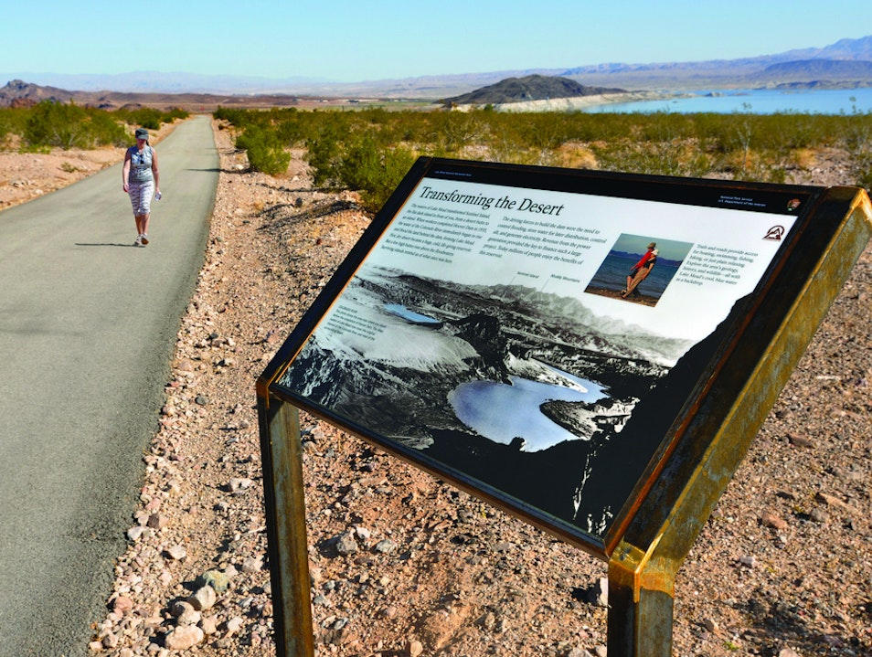 Exercise Along a Scenic Loop Trail
