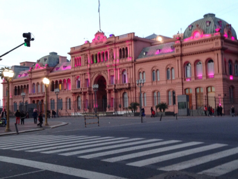 Think pink. Buenos Aires  Argentina