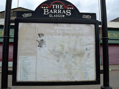 the barras Glasgow  United Kingdom