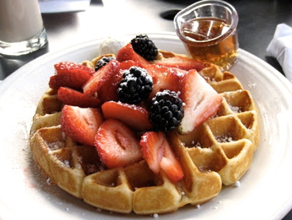 The Best Waffle Outside Belgium Menlo Park California United States