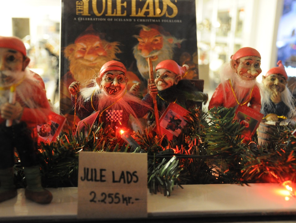 You better be good or the Jule Lads will get you! Reykjavik  Iceland