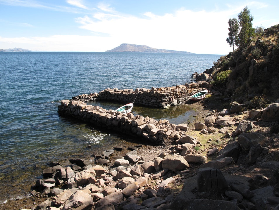 Lonely Boats of Taquile