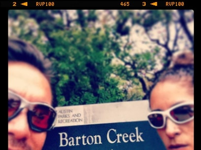 Barton Creek Greenbelt East Austin Texas United States