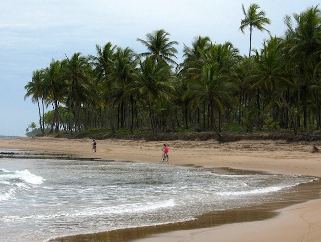 The lesser known Brazilian beach