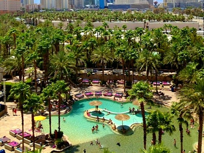 The Most Famous Pools in Vegas