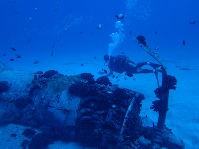 Corsair Wreck Honolulu Hawaii United States