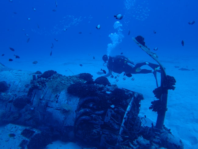 The Only Oahu Wreck Dive Not Intentionally Sunk