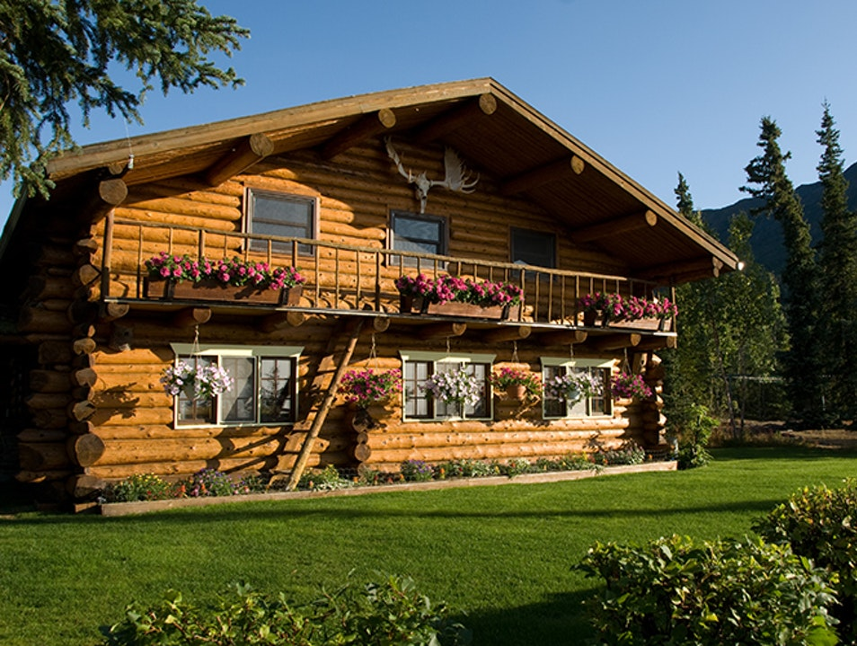 Iniakuk Lake Wilderness Lodge Fairbanks Alaska United States