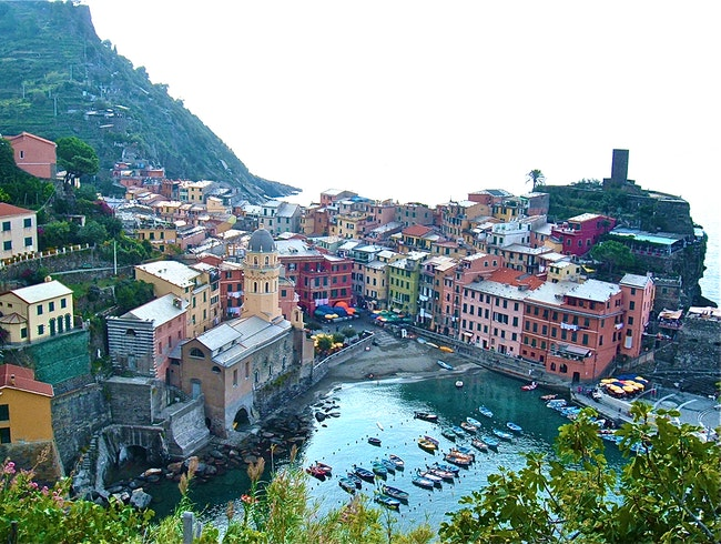 Italy's Five Lands