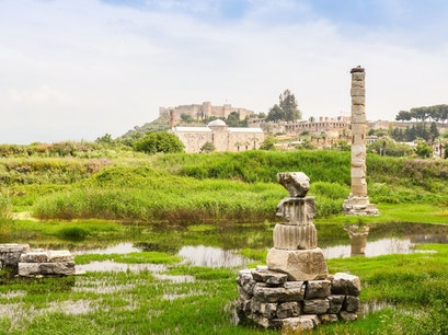 Temple of Artemis Selçuk  Turkey