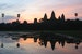 Sunrise at Angkor Wat Siem Reap  Cambodia